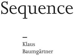 Sequence -Klaus Baumgartner Locher, Hans