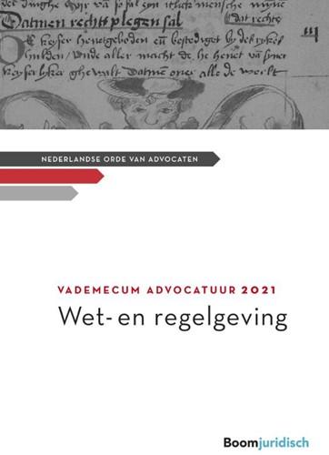Vademecum Advocatuur -Wet- en regelgeving
