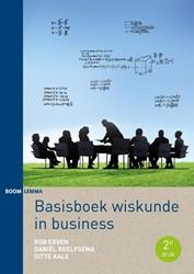 Basisboek wiskunde in business Erven, Rob