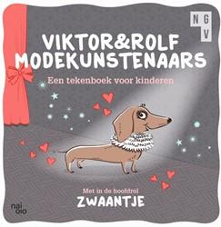 Viktor & Rolf Modekunsternaars -Tekenboek voor kinderen