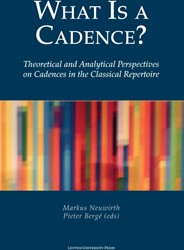What Is a Cadence? -theoretical and analytical per spectives on cadences in the c