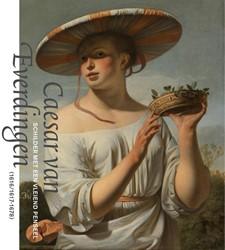 Caesar van Everdingen - NL editie -schilder met een vleiend pense el (1616/1617-1678) *, * *