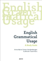 English Grammatical Usage -a study guide Simon-vandenbergen, Anne-Marie