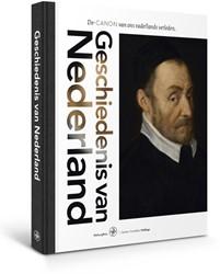 Geschiedenis van Nederland -de CANON van ons vaderlands ve rleden Hellinga, Gerben G.