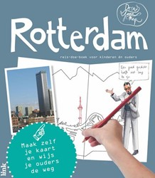 Draw Your Map Rotterdam -reis-doe-boek voor kinderen e n ouders Bertus, Robin
