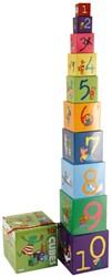 Kikker- Stapelblokken (10)