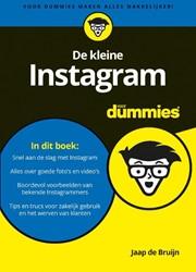 De kleine Instagram voor dummies Bruijn, Jaap de