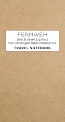 Fernweh Travel Notebook navulset