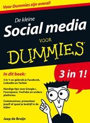 De kleine Social Media voor Dummies Bruijn, Jaap de