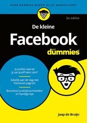 De kleine Facebook voor Dummies, 3e edit Bruijn, Jaap de