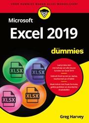Microsoft Excel 2019 voor Dummies Harvey, Greg