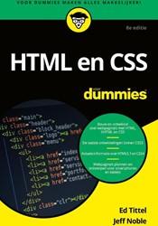 HTML en CSS voor Dummies Tittel, Ed