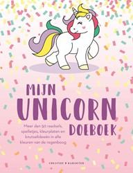 Mijn unicorn-doeboek -Meer dan 50 raadsels, spelletj es, kleurplaten en knutselidee