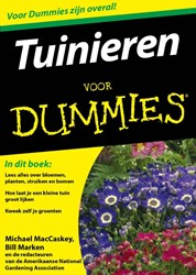 Tuinieren voor Dummies, pocketeditie MacCaskey, Michael