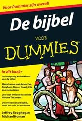 De bijbel voor Dummies, pocketeditie -pocketeditie Geoghegan, Jeffrey