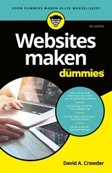 Websites maken voor Dummies Crowder, David A.