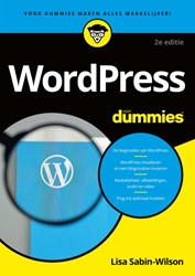 Wordpress voor dummies Sabin-Wilson, Lisa