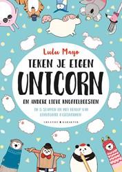 Teken je eigen unicorn -en andere lieve knuffelbeesten Mayo, Lulu
