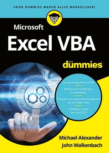Microsoft Excel VBA voor Dummies Alexander, Michael
