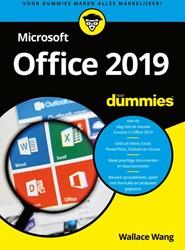 Microsoft Office 2019 voor Dummies Wang, Wallace