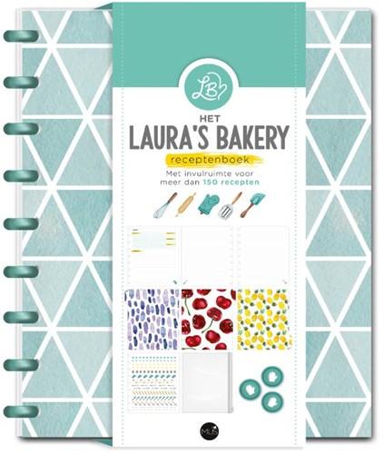 Het Laura's Bakery Receptenboek -Met invulruimte voor meer dan 150 recepten Kieft, Laura