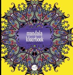Het enige echte mandala kleurboek Artist