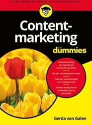 Contentmarketing voor Dummies Galen, Gerda van