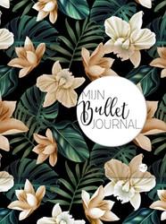 Mijn Bullet Journal Black Flower