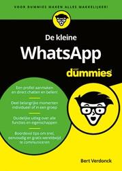 De kleine WhatsApp voor Dummies Verdonck, Bert