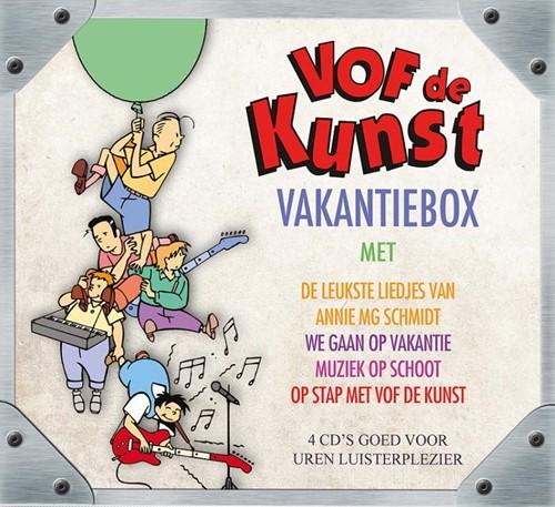 VOF De Kunst*Vakantiebox 4 CD-BOX