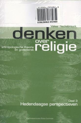 Denken over religie - Driedelige set -antropologische theorie en god sdienst Neckebrouck, Valeer-2
