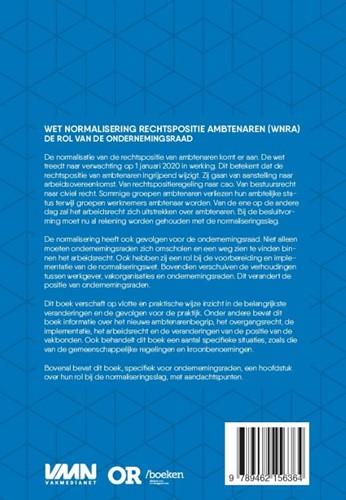 Wet normalisering rechtspositie ambtenar -de rol van de ondernemingsraad Jellinghaus, Steven-2