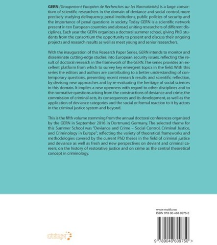 Deviance and Crime - Social Control, Cri Groenemeyer, Axel-2