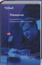 Van Dale Thesaurus -synoniemen en betekenisverwant e woorden