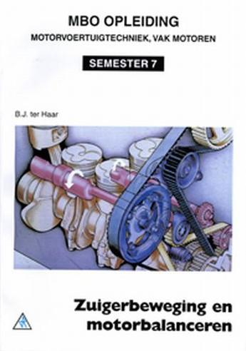 Zuigerbeweging en motorbalanceren Haar, B.J. ter