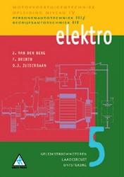 Elektro -personenautotechniek III/Bedri jfsautotechniek III Berg, J. van den