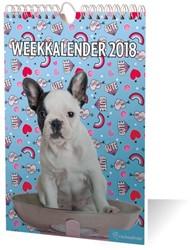 WEEKKALENDER 2018 R. HALE HONDEN / 1X10,