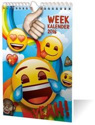 WEEKKALENDER 2018 EMOJI / 1X10,99
