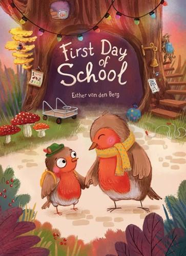 First Day of School Berg, Esther van den