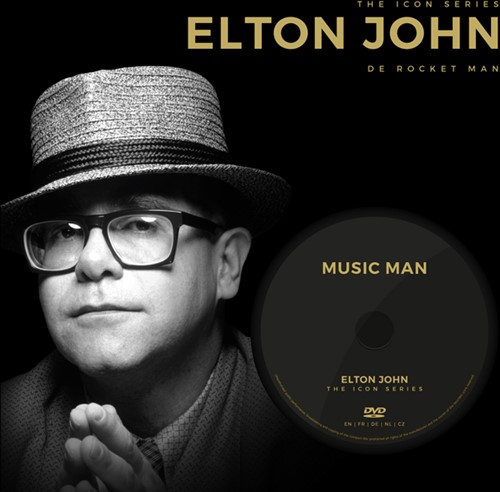 ELTON JOHN-ICON SERIES + DVD -De Rocket Man