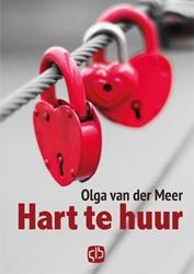 Hart te huur - grote letter uitgave -- grote letter uitgave Meer, Olga van der