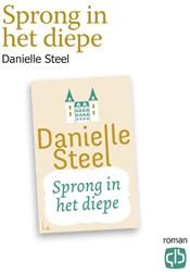 Sprong in het diepe - grote letter uitga Steel, Danielle