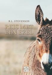Reis met een ezel -- grote letter uitgave Stevenson, Robert Louis