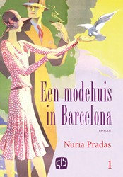 Een modehuis in Barcelona (in 2 banden) -grote letter uitgave Pradas, Nuria