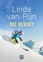 Ski resort -grote letter uitgave