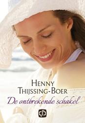 De ontbrekende schakel -- grote letter uitgave Thijssing-Boer, Henny