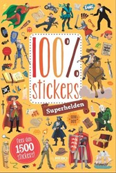 100% stickers Superhelden