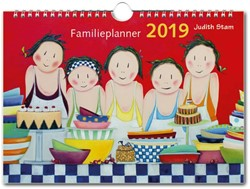 Judith Stam Familie planner 2019