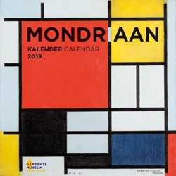 Mondriaan maandkalender 2019