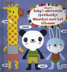 Baby's allereerste speelboekje -Woordjes over het lichaam